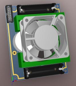 Electrochemical Gaz Sensor conditioning board